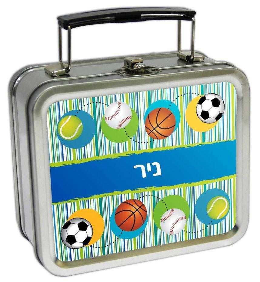 מזוודות קטנות לאוספים - כדורי ספורט