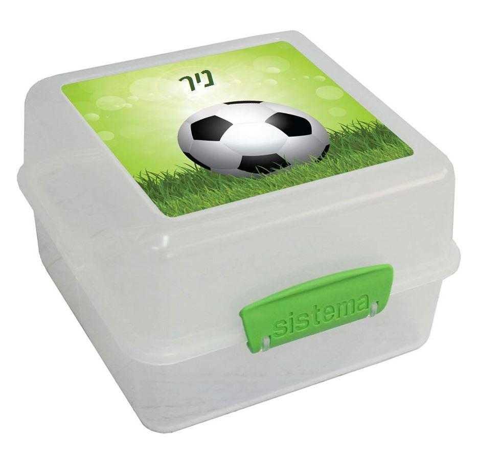 קופסאות אוכל סיסטמה - משחקים כדורגל