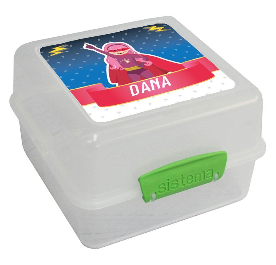 קופסאות אוכל סיסטמה - גיבורת על