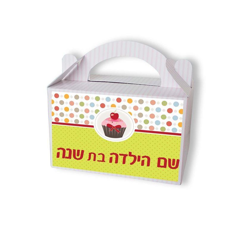 מזוודות מתנה לאורחי היומולדת - יום הולדת קאפקייק