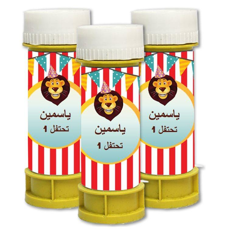 فقاعات صابون لعيد ميلاد (בועות סבון ליומולדת בערבית) - יום הולדת קרקס לבנות (בערבית)