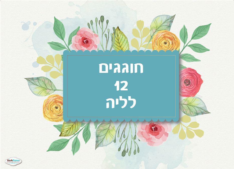פוסטרים ליומולדת - יום הולדת פרחים