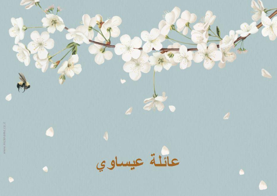 قاعدة طعام للضيافة (פלייסמנטים מעוצבים לשולחן בערבית) - ניצני השקד (בערבית)
