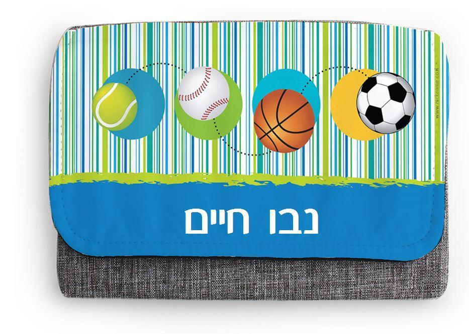 קלמר 3 תאים - כדורי ספורט