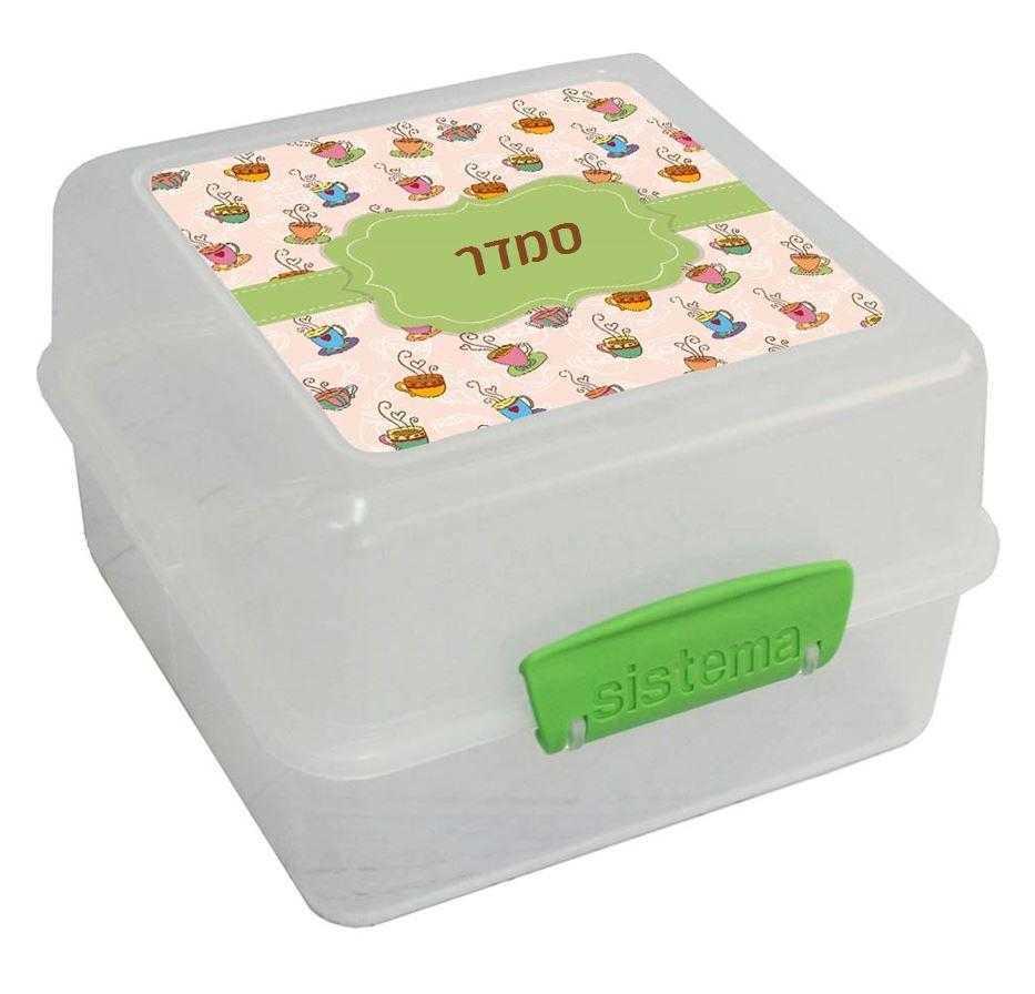 קופסאות סיסטמה לבוגרים - כמה סוכר?