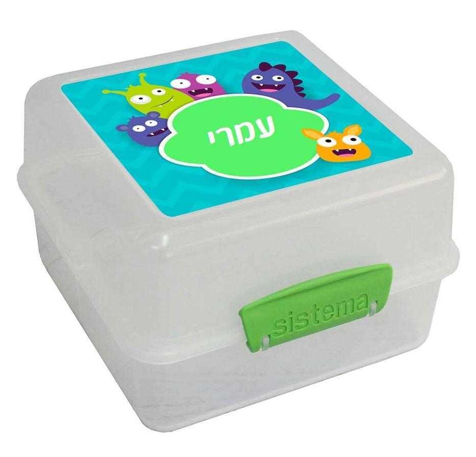 קופסאות סיסטמה לילדים - המפלצות שלי