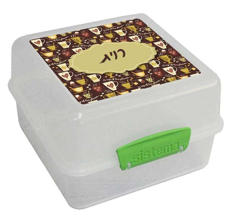 קופסאות סיסטמה לבוגרים - תה פלחי תפוח